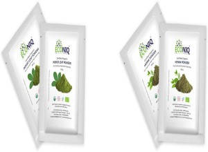 Econiq Organic Indigo And Henna Leaf Powder 200 G Best Price In