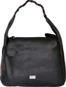 7ac933980f4 Woodland Hand held Bag Black Best Price in India   Woodland Hand ...