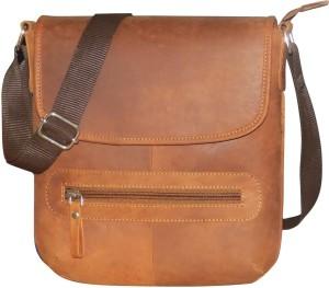 Kan Formal Casual Genuine Leather Shoulder Bag Travel Document Holder 0fbd0b855aa3a