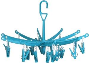 dk-eSTOR 24 Plastic Pegs Clip Hanger Closet Organizer