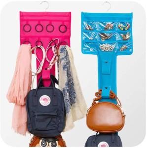 EMSON Scarf Organizer, Handbag Organizer, Accessories Organizer