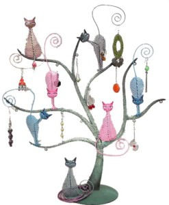 Bali Mantra Cat Tree Jewellery Organizer