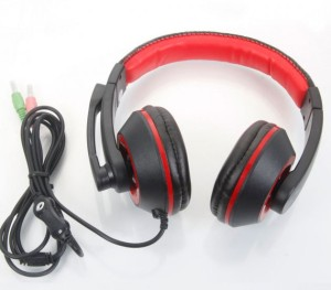 Tech Gear Headphone with High Quality Mic For PC Laptops, mp3, iPhone, Mp4, iPad Headphones