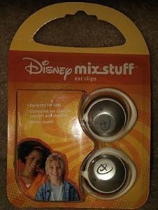 Disney Mix Stuff Kids Ear Clips Headphones