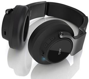 Akg K 845Bt Bluetooth Wireless On-Ear Headphones, Black Wired bluetooth Headphones