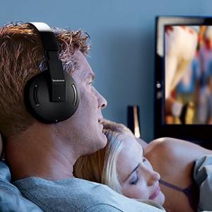 Brookstone 2.4Ghz Wireless Tv Headphones Wired bluetooth Headphones