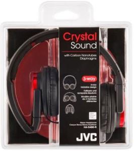 JVC Victor Head-Band Foldable Headphones | Ha-S400-R (Japanese Import) Headphones