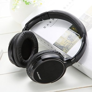 504f335cac9 Ausdom M06 Lightweight Stereo Wi Wireless Bluetooth Edr Over Ear Headphones  Deep Bass With Built-In Mic For Music Streaming Hands-Free Wired bluetooth  ...