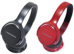 Audio Technica Sonicfuel Sealed On Ear Headphones Portable Ath-Ox5 Rd Headphones
