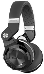 Bluedio Turbine T2S Wireless Bluetooth Headphones With Mic, 57Mm Drivers/Rotary Folding (Black) Wired bluetooth Headphones