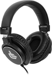 Limitless Creations Hp3Bk Over-Ear Professional Studio Monitor Headphones Headphones
