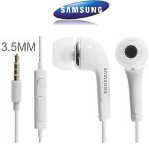 NSSTUFF Samsung Galaxy J7 / Galaxy J5 Earphones WIth Mic, Handsfree Headset With Deep Bass And Music Equalizer (White) EHS61ASFWE Wired Headphones