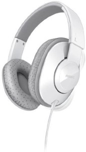 Philips Shl4500Wt Frame Headphones For Dynamic Bass 40 Mm Neodymium Speaker Drivers () Wired Headphones
