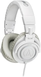 Audio Technica Ath-M50Wh Professional Studio Monitor Headphones Headphones