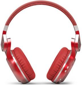 Bluedio T2 Plus Red Wired & Wireless bluetooth Headphones