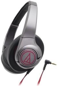 Audio Technica Sonicfuel Sealed On-Ear Headphones Portable Gunmetal Ath-Ax5 Gm Headphones