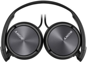 Sony Mdr-Zx310-Black Wi Headphones With Lightweight Adjustable Headband And Swivel Earcups Headphones