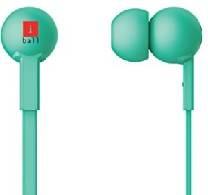 iBall Colorstick Earphone With MIC Wired Headphones