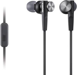 Sony MDR_XB50AP-Black Headphones