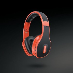 Sharper Image Sbt559Or Universal Wireless Bluetooth 4.0 Headphones With Mic Wired bluetooth Headphones