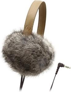 Audio Technica Dynamic Headphones Ath-Fw55 Bw Headphones