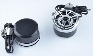 Eathtek New 12V Waterproof Motorcycle Boat Audio Sound System Loud Speaker Handle Headstock Headphones