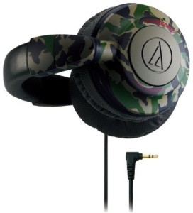 Audio Technica Audio Technica Ath-Bb500 Cm Camouflage   Portable Headphones (Japan Import) Headphones