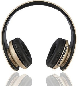Esonstyle Foldable Wireless Bluetooth Over-Ear Stereo Headphone Headset Earphones, Stereo Audio Support Tf Card And Hands-Free Calling Function Audio Cable Wired bluetooth Headphones
