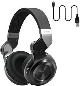 Bluedio Bluedio Headphone T2 Black Wired bluetooth Headphones