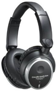 Audio Technica Ath-Anc7B Quietpoint Active Noise-Cancelling Closed-Back Headphones - Wi Headphones