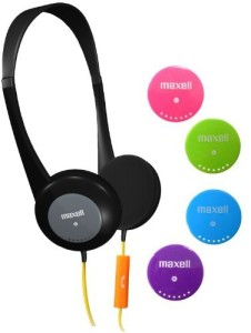 Maxell 195004 Action Kids Headphone With Microphone Wired Headphones