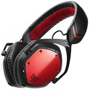 V-Moda Crossfade Wireless Over-Ear Headphone - Rouge Wired bluetooth Headphones