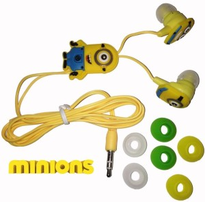 Despicable Me Minion E01 Wired bluetooth Headphones