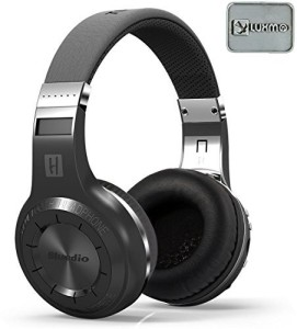 Luxmo Bluedio H+(Turbine) Bluetooth Stereo Wireless Headphones Hifi Bulit-In Microphone Micro-Sd Music String/Fm Radio Bt4.1 Over-Ear Noise Cancelling Earphones Headset Wired bluetooth Headphones