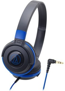 Audio Technica Audio Technica Street Monitoring Portable Headphone Black Blue Ath-S100 Bbl (Japan Import) Headphones