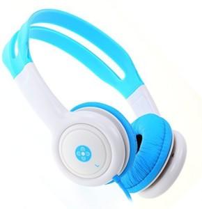 Moki Acc Hpkb Volume Limited Kids Headphones - Blue Headphones