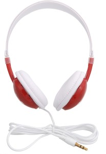 iNext IN 904 HP Red Wired Headphones