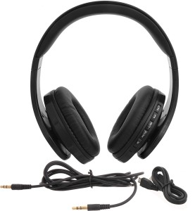 iNext IN 916 BT Blk Wired & Wireless bluetooth Headphones