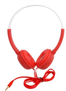 iNext IN 913 HP Red Wired Headphones