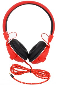 iNext IN 910 HP Red Wired Headphones