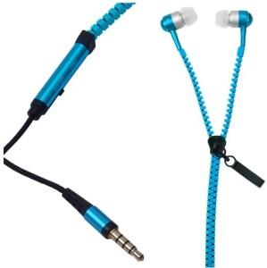 Percias Zipper Earphones Wired Headphones
