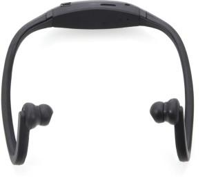 SUNLIGHT TRADERS Elite Mkt Bluetooth Music Sport wireless 1 Wireless Bluetooth Headset With Mic (BLACK)-BS2 bluetooth Headphones