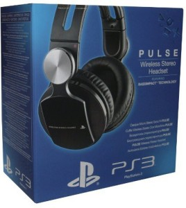 Sony Ps3 Pulse Wireless Headset Elite Edition Wired bluetooth Headphones