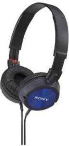 Sony Stereo Headphones Mdr-Zx300 Blue | Swivel Holding Overhead (Japan Import) Headphones