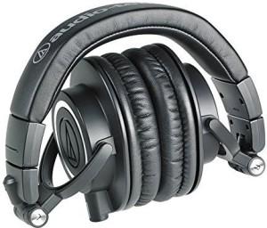Audio Technica Ath-M50X Professional Studio Headphones () Deluxe Bundle Headphones