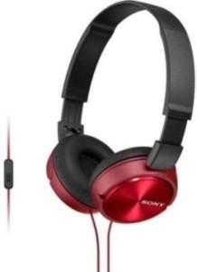 Sony Mdr-Zx310Ap/R Zx Series Stereo Headset Headphones