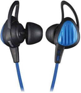 Maxell Drip-Proof Sports Canal Type Earphone Blue Hp-S20.Bl (Japan Import) Wired Headphones