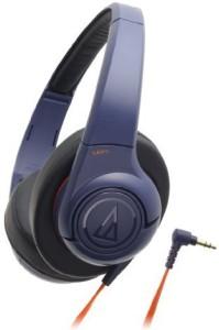 Audio Technica Sonicfuel Sealed On-Ear Headphones Portable Navy Ath-Ax3 Nv Headphones