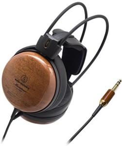 Audio Technica Audio Technica Audiophile Closed-Back Dynamic Wooden Headphones Ath-W1000Z Headphones