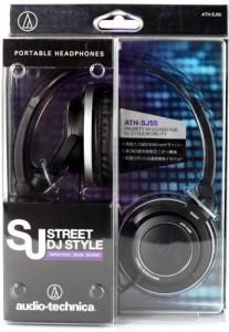 Audio Technica Audio Technica Ath-Sj55 Bk Portable Headphones (Japan Import) Headphones